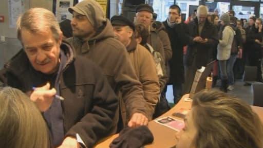 A l'office de tourisme de Mende, les habitants se sont bousculés pour acheter les 500 places disponibles pour le match Mende-Le Havre.