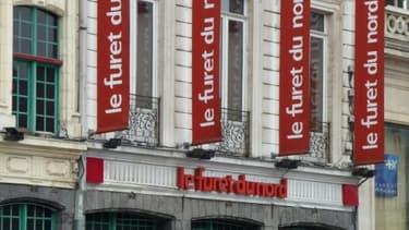 Le magasin historique du Furet du Nord est installé sur la Grand Place de Lille depuis 1959.