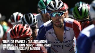 """Tour de France : """"La situation va dans le bon sens"""" pour Pinot et Gaudu rassure Madiot"""