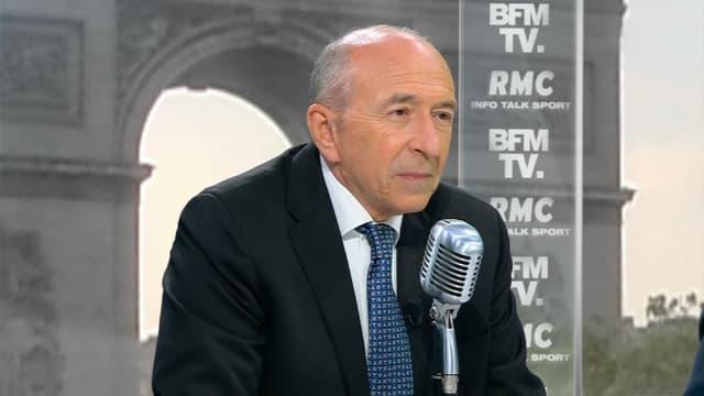 Gérard Collomb sur BFMTV et RMC.