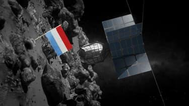 La société américaine, associée au Luxembourg, a déjà conçu des vaisseaux comme ce DragonFly pour l'exploitation minière des astéroïdes.