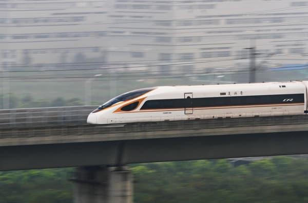 Le TGV Fuxing
