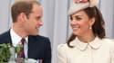 William et Kate, duc et duchesse de Cambridge, le 4 août 2014 en Belgique.