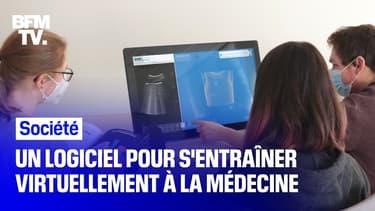 Une entreprise a développé un logiciel pour s'entraîner virtuellement à la médecine