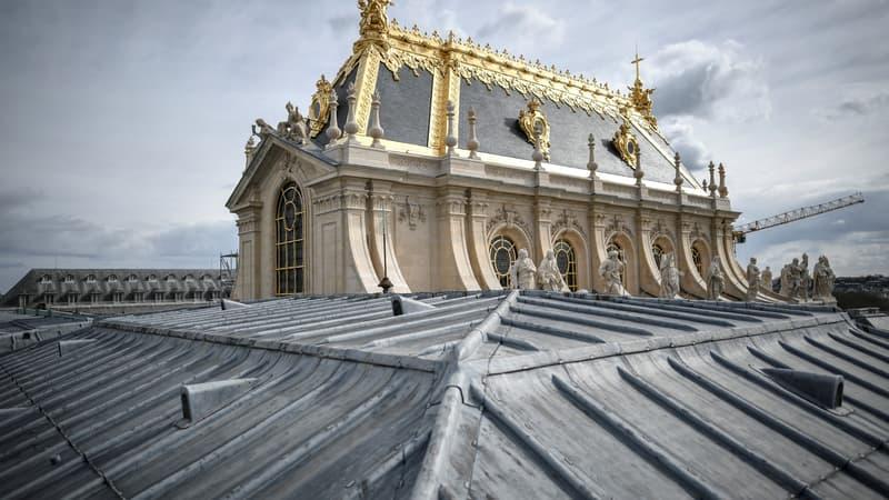 Château de Versailles: les images de la chapelle royale et du bureau d'angle tout juste restaurés