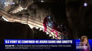 Ariège: ils vont passer 40 jours dans une grotte, sans voir le jourff