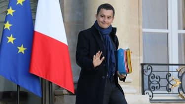 Gérald Darmanin, le ministre de l'Action et des comptes publics, le 22 novembre 2017 à Paris.