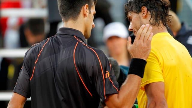Djokovic et Nadal ne se quittent plus
