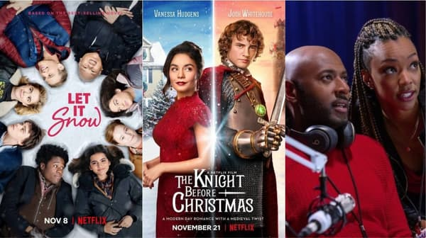 Let It Snow, The Knight Before Christmas et Holiday Rush