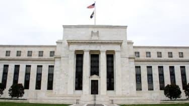 Le siège de la Réserve fédérale américaine, à Washington aux Etats-Unis.