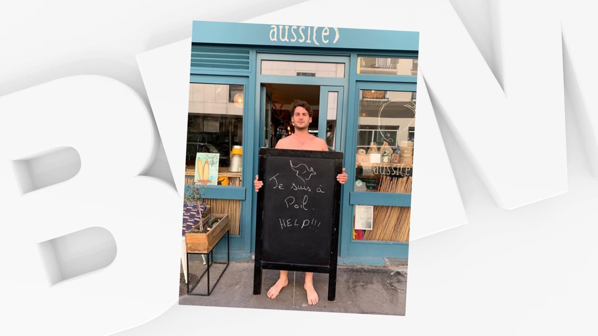 """""""Je suis à poil, help!"""": l'ex-candidat Top Chef Alexis Braconnier lance une cagnotte pour sauver son restaurant"""