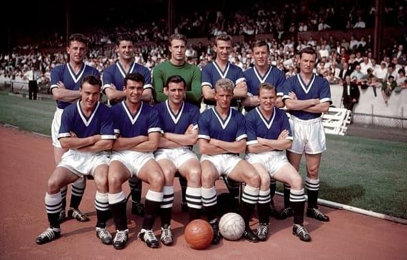 L'équipe de Chelsea lors de la saison 1958-1959
