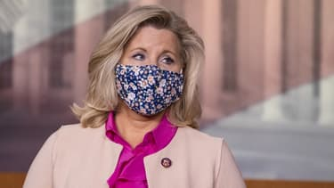 Une des principales élues républicaines, Liz Cheney.