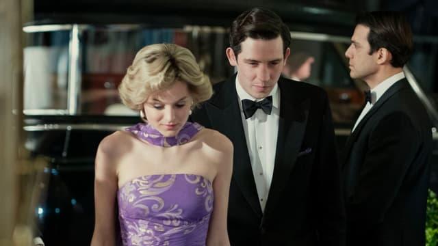 """Emma Corrin et Josh O'Connor sont la princesse Diana et le prince Charles dans la saison 4 de """"The Crown"""""""