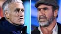 Didier Deschamps et Eric Cantona