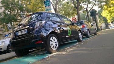 La filiale parisienne de la société canadienne Communauto, présente depuis 2012 dans la capitale, propose 135 véhicules en autopartage.