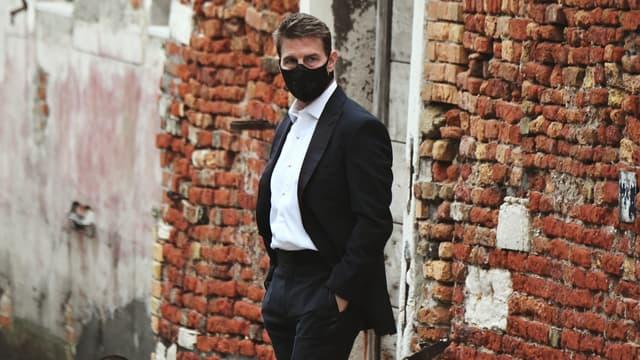 """Tom Cruise à Venise sur le tournage de """"Mission Impossible 7"""""""