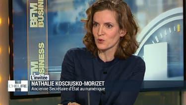 Nathalie Kosciusko-Morizet était l'invitée de BFM Business mardi 19 janvier.