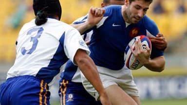 Julien Malzieu a marqué le seul essai français