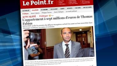 L'acquisition par Thomas Fabius d'un appartement à Paris d'une valeur de sept millions d'euros intrigue la justice