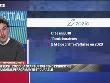 La start-up qui recrute: Zozio, la start-up qui rend l'industrie plus humaine, performante et durable - 10/04