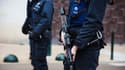 Des policiers à Molenbeek le 18 mars 2016