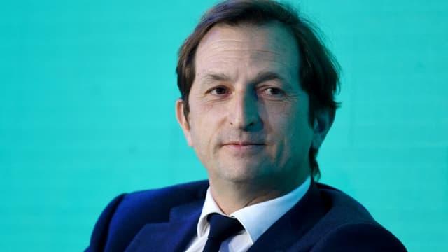 Bertrand Camus le directeur général de Suez, lors d'une réunion boursière à Paris le 14 janvier 2020