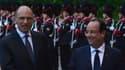 """François Hollande et Enrico Letta plaident pour """"réorienter l'Europe de l'austérité vers la croissance""""."""