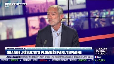 Ramon Fernandez (Orange) : Résultats plombés par l'Espagne pour Orange - 29/07