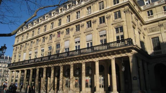 La Comédie française, à Paris