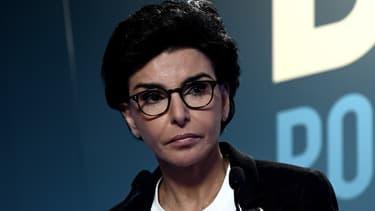 Rachida Dati le 15 mars 2020 au soir du premier tour des élections municipales.
