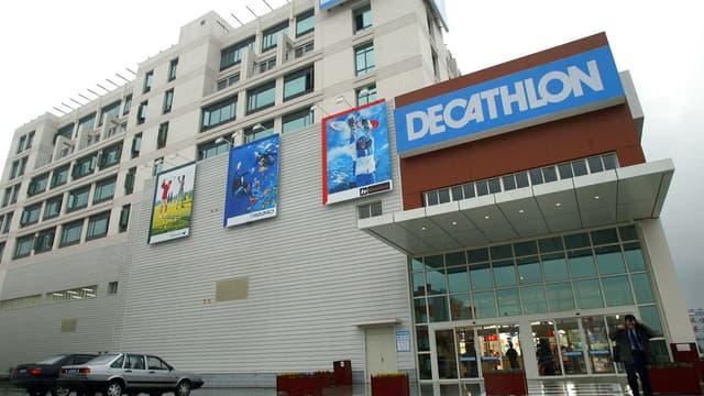 Decathlon a 128 points de vente en Chine.