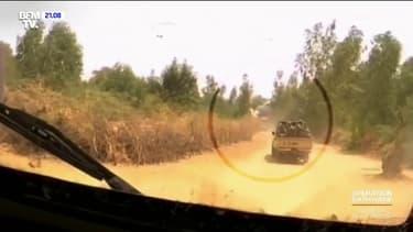 Un blindé de cette unité de l'opération Barkhane a sauté sur une mine