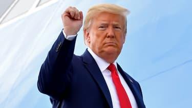 Donald Trump lors d'un déplacement à Dallas, le 11 juin 2020