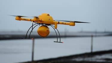 Un drone a failli percuter un avion de ligne à Londres en juillet 2014 (photo d'illustration).