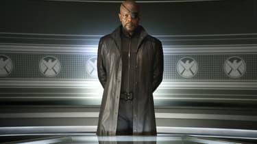 Samuel L. Jackson dans la peau de Nick Fury