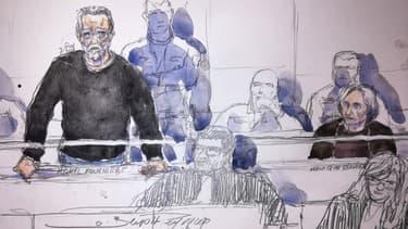 Michel Fourniret lors de son procès à la cour d'Assises de Versailles, le 13 novembre 2018.