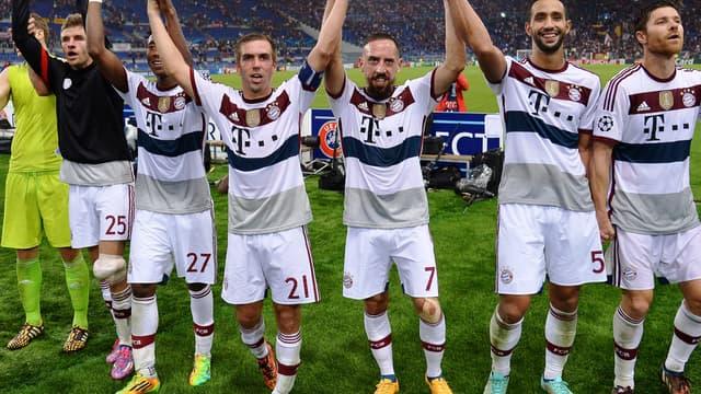 Le Bayern Munich a fait exploser l'AS Rome