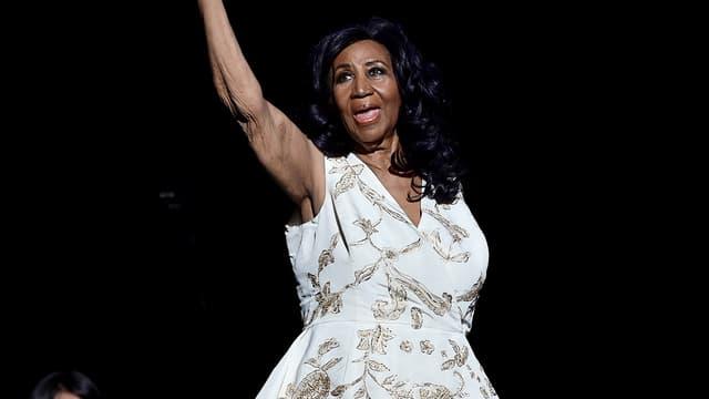 Aretha Franklin le 19 avril 2017 à New York