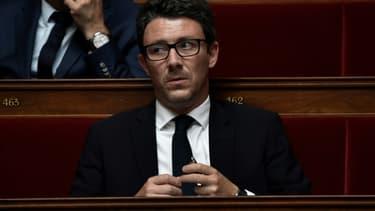 Benjamin Griveaux sur les bancs de l'Assemblée nationale, le 16 juin 2020