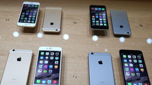L'iPhone 6 ne coûte que 155 euros à produire.