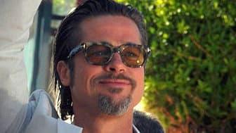 L'acteur américain et cmpagnon d'Angelina Jolie, Brad Pitt.