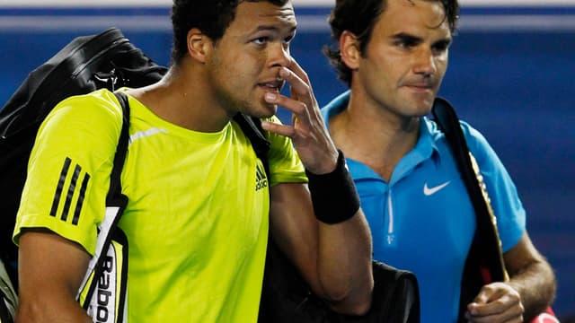 Tsonga et Federer