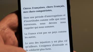 La lettre d'Emmanuel Macron aux Français a été dévoilée.