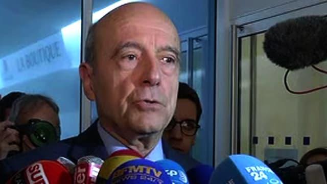 Alain Juppé au siège du parti Les Républicains à Paris le 7 décembre 2015.