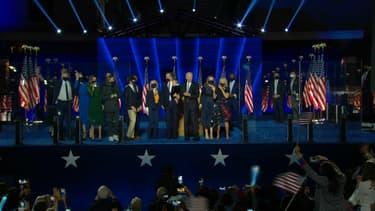 Les familles de Joe Biden et Kamala Harris