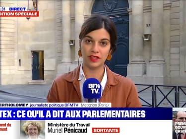 Ce qu'a dit Jean Castex aux parlementaires de la majorité après l'annonce du remaniement