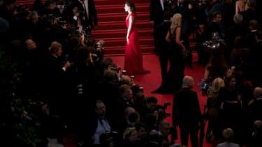 Tapis rouge à Cannes