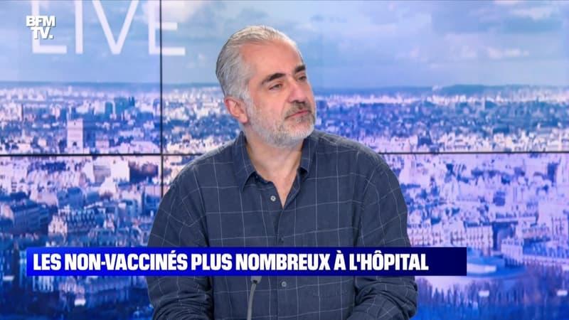 Les non-vaccinés plus nombreux à l'hôpital - 31/07