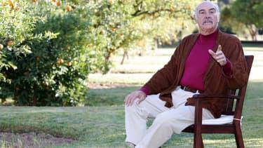 Sean Connery au Maroc en décembre 2004